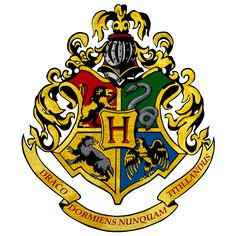 Hogwarts logo by shadoPro.deviantart.com on @DeviantArt