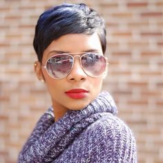 New Human Hair Wig Short Pixie Cut Wig Ladies Black Short Cut Wigs pixie cut styles for black hair - Hair Cutting Style Pixie Cut Blond, Pixie Cut Wig, Blonde Pixie, Pixie Cuts, Black Pixie Haircut, Short Haircuts Black Hair, Short Sassy Hair, Short Hair Cuts, Straight Hair