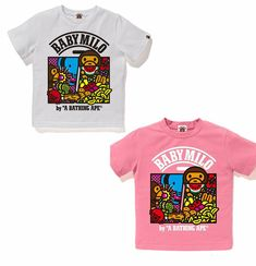 e09f69e2 (eBay Sponsored) A BATHING APE BAPE KIDS MILO COMIC FRUITS TEE 2colors From  Japan