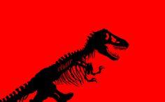 Full Jurassic Park T-Rex skeleton