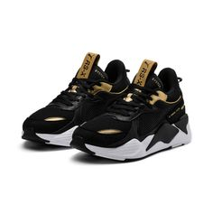 9c7ec4cdde4 Puma RS-X Trophies Team Gold Shoes Sneakers Authentic 369451-01 Size US 4