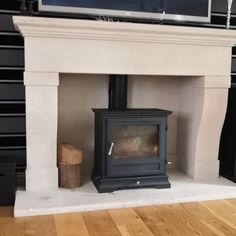 French style Bath stone fireplace Natural Stone Fireplaces, French Style, Natural Stones, Home Appliances, Bath, Wood, Home Decor, House Appliances, Bathing
