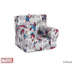 Delta Spiderman Upholstered Chair 60 Superhero Toddler