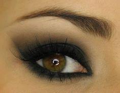 Dica de maquiagem: sombra preta passo a passo