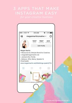 3 apps we use everyday that make marketing our small creative business on Instagram easy! http://www.meganmartin.net/instagramapps/?utm_campaign=coschedule&utm_source=pinterest&utm_medium=Megan%20Martin%20Creative%20%7C%20Entrepreneur%2C%20Business%20Blogger%2C%20Stylist%20and%20Brand%20Designer%20&utm_content=3%20Powerful%20Apps%20That%20Make%20Instagram%20Easy
