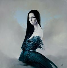 Polish Artist Karol Bak. Beautiful Angels and Demons