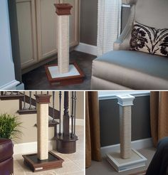 1000 Ideas About Scratching Post On Pinterest Cat Trees