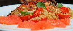 Pechuga de Pollo con Ensalada de Quinua