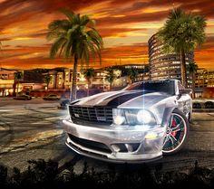 Los Angeles Wallpaper, Midnight Club, Rockstar Games, Bikini Models, Consoles, Xbox, Video Games, Gaming, Street