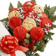 Beautiful cookie bouquets visit www.tonyasgifts.labellabaskets.com