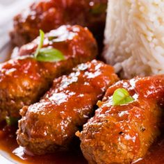 This Greek meatball recipe has a wonderful flavor. If you are looking to try something a little bit different, try this recipe made with a great variety of herbs and spices.  . Greek Meatballs  Recipe from Grandmothers Kitchen.