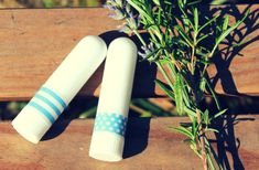 Receitas de aromaterapia: inalador nasal #circulobio