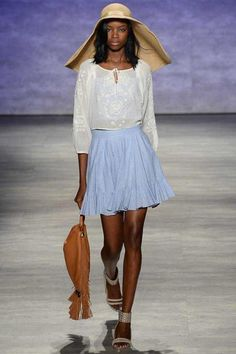 Rebecca Minkoff Spring 2015 Ready-to-Wear - Collection - Gallery - Look 1 - Style.com