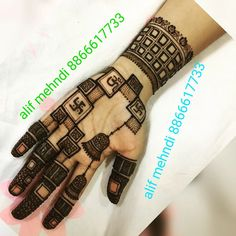 Trendy Tattoo For Men Unique For Women - nirali - Henna Designs Hand Mehndi Designs For Girls, Wedding Mehndi Designs, Latest Mehndi Designs, Simple Mehndi Designs, Trendy Tattoos, Tattoos For Women, Tattoos For Guys, Mehndi Tattoo, Henna Tattoo Designs
