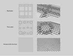 Sendai Mediatheque: Materials and Patterns by Aurapim P., via Behance