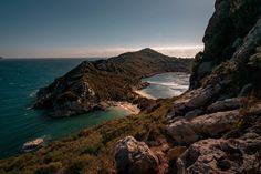 Top European Destinations, Europe Destinations, Amazing Destinations, Holiday Destinations, Corfu Island, European Holidays, Mount Olympus, Enjoy Your Vacation, Hidden Beach
