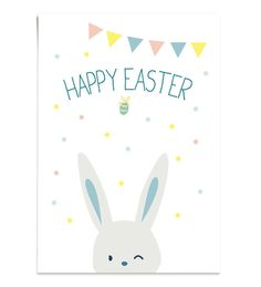 """Carte """"Happy Easter"""" – Bellacicci"""