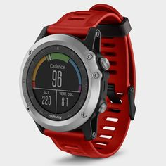 Garmin Fenix 3 Performer Bundle(heart rate) Silver(red strap) The Fenix 3 is the uncompromising GPS sport watch designed for demanding athletes and outdoor adventurers.