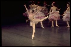 """Gelsey Kirkland, age 15, as Dewdrop in the Waltz of the Flowers, in a New York City Ballet production of """"The Nutcracker."""" 1967. Photo by Martha Swope/©The New York Public Library"""