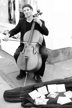 Music Cello Street Photography