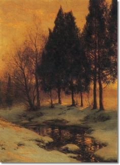 walter launt palmer paintings | ... Approximate Original Size - 28x21 by Walter Launt Palmer | Painting