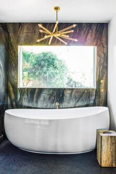 Bathroom // Soaking Tub // Megan Tagliaferri