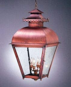 Colonial Williamsburg Lantern- an interior or exterior hanging lantern light made with antique copper. & colonial williamsburg lighting - Google Search | Bits u0026 Pieces ... azcodes.com