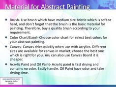 Material for Abstract Painting