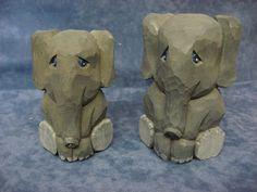 carverswoodshop-noah's ark elephant
