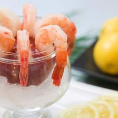 Lemon and Garlic Shrimp Cocktail From Thanksgiving to Christmas, all the way to New Year's, this recipe for shrimp cocktail is easy and sure to please. It's loaded with tangy and spicy flavor, and is so simple! | Recipe4Living