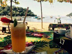 Tá aí um lugar agradável para comer fora do centro histórico de Paraty