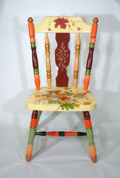 Eco Green Hand Painted Furniture eclectic