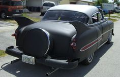 A 53 Chevy with bat fins just isn't right!