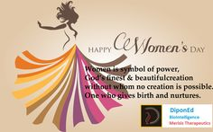 Happy women's day #Diponed BioIntelligence