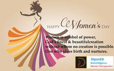 Happy women's day #Diponed BioIntelligence