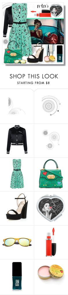 """Retro Chic"" by kelly-floramoon-legg ❤ liked on Polyvore featuring AMIRI, Retrò, Voodoo Vixen, Dolce&Gabbana, Charles David, SW Global, MAC Cosmetics and JINsoon"