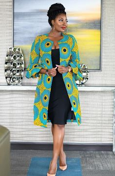 Items similar to african print women's jacket /african print blazer jacket /african wedding dress /ankara blazer/african formal dress/african womens jacket on Etsy African Fashion Designers, African Print Fashion, Africa Fashion, Fashion Prints, Modern African Fashion, African Print Dresses, African Wedding Dress, African Fashion Dresses, African Dress
