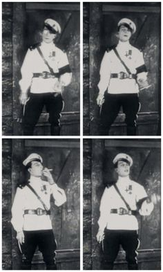 Huh. This was an unexpected evil transformation for little Buster Keaton, going all Foolish Wives for a few moments.