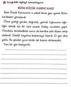 Metin inceleme Learn Turkish, Time Kids, Learn English, Kids Learning, Kindergarten, Preschool, Drama, Classroom, Education