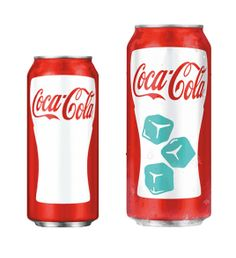 Coca Cola Sixer - new Chill activated Can