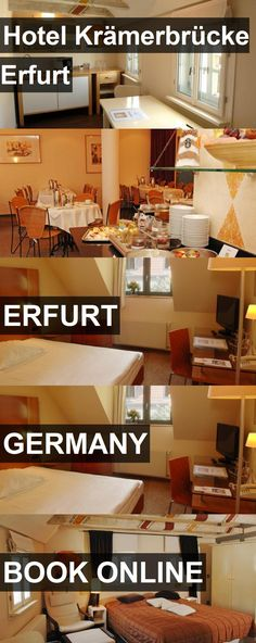 Hotel Hotel Krämerbrücke Erfurt in Erfurt, Germany. For more information, photos, reviews and best prices please follow the link. #Germany #Erfurt #HotelKrämerbrückeErfurt #hotel #travel #vacation