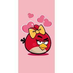 Kylpypyyhe Angry Birds Valentine 70x140 cm x2 Angry Birds