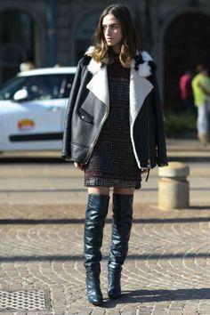 Made in Italy... Street style en Milán #Elle #Milano #MFW #streetstyle #moda #outfit #tendencias #fashiontrends #fashioninspiration