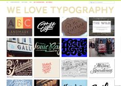 12 Websites to Go to for Typography Inspiration