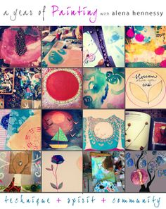 A Year of Painting by Alena Hennessy