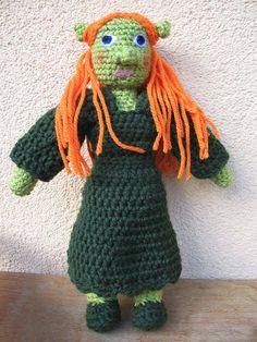 #crochet #fiona #toy