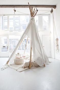 Atelier Sukha Amsterdam: A Bundle of Joy Interior Exterior, Interior Design, Indoor Tents, Deco Kids, Turbulence Deco, Home And Deco, Scandinavian Style, Scandinavian Interior, Home Decor Inspiration