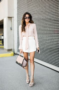 High Waisted Shorts (Hello Fashion)
