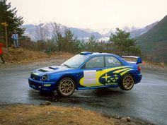 WRC - Richard Burns - Subaru Impreza