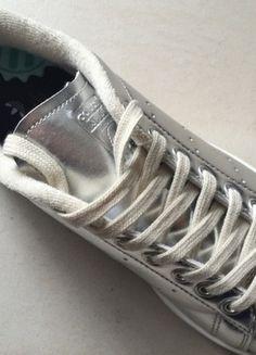 À vendre sur #vintedfrance ! http://www.vinted.fr/chaussures-femmes/baskets/22287502-adidas-stan-smith-argent-t38